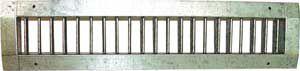 griglia di ventilazione in acciaio inossidabile