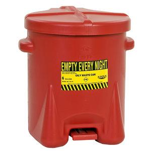 contenitore per rifiuti in polietilene