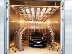 camera per test di invecchiamento solare