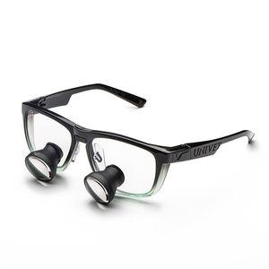 occhiali di protezione con lente d'ingrandimento
