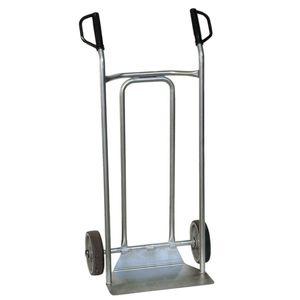 carrello a mano per prodotti alimentari / per il trasporto / in acciaio inossidabile