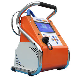 macchina saldatrice per elettrofusione