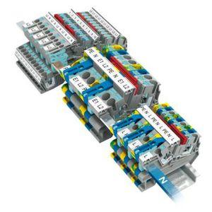 morsetto componibile a bassa tensione / con connessione a vite / a molla / con connessione rapida