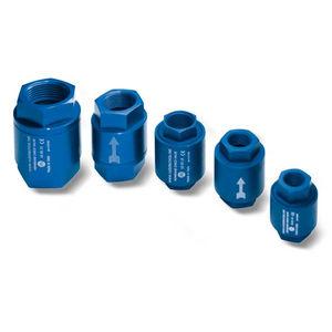valvola di ritegno a membrana / filettata / per vuoto / pneumatica