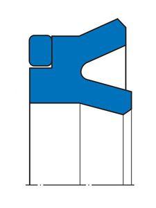 guarnizione torica / a U / di pistone / a effetto semplice