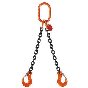 brache di sollevamento a catena