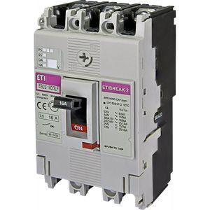 interruttore automatico magnetotermici / a bassa tensione / 3 poli / modulare