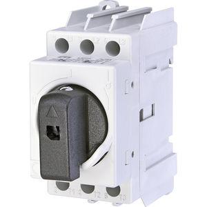 interruttore-sezionatore rotativo / AC / 3 poli / su guida DIN