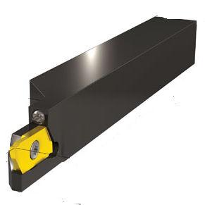 utensile per scanalare e tranciare a flangia
