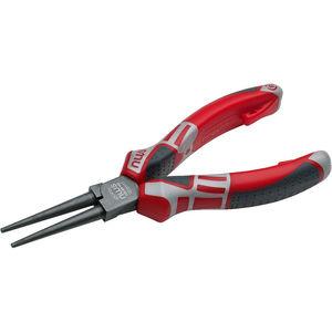 pinze a becco tondo / per dispositivi elettronici / in acciaio
