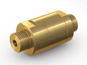 filtro a gas / per applicazioni ad alta pressione / in pressione