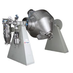 essiccatore sottovuoto / rotativo / con filtro / biconico