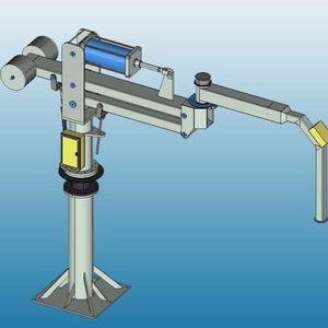 manipolatore pneumatico / con presa / con gancio / con magnete di sollevamento