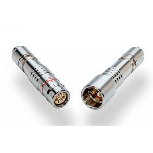 connettore ibrido / di alimentazione elettrica / ottico / in fibra ottica