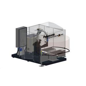 cella robotizzata di saldatura ad arco