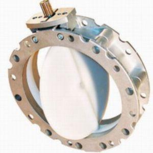 valvola a farfalla / elettrica / di arresto / in alluminio