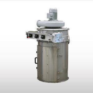 filtro ad aria / a tamburo / cilindrico / con flangia