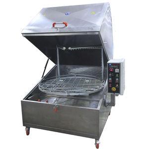 macchina per pulizia in acciaio inox