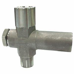 limitatore di pressione a pistone / a molla