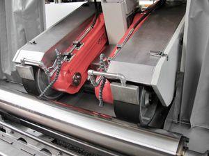 macchina di finitura lucidatrice / per rettifica / decromatura / lineare