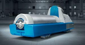 decanter per l'industria chimica / centrifugo / orizzontale