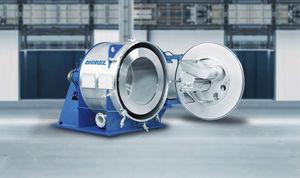centrifuga di processo / per l'industria agroalimentare / per l'industria chimica / filtrante