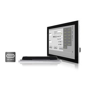 monitor LCD / a tecnologia capacitiva proiettata / 15