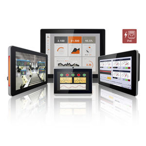 HMI con touch screen multitouch