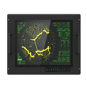 monitor per applicazioni militari / TFT / con touch screen multitouch / a tecnologia capacitiva proiettata
