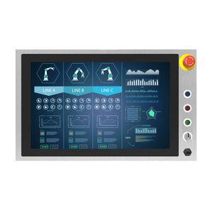 panel PC HMI / con touchscreen capacitivo PCAP / 21.5