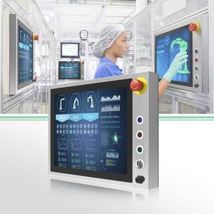 panel PC HMI / con touchscreen capacitivo PCAP / 19