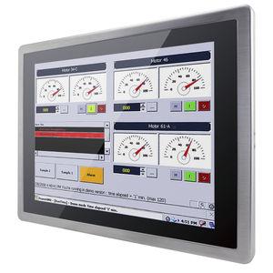 monitor antideflagrante / LCD / a tecnologia capacitiva proiettata / 15