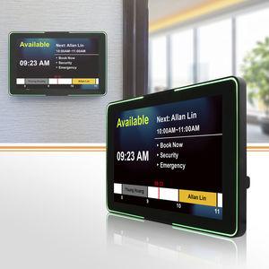 terminale HMI di controllo accessi / con touch screen multitouch / ad incastro / a parete