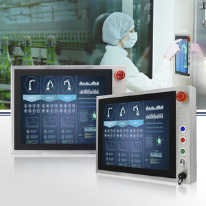 panel PC TFT LCD / con touch screen multitouch / con touchscreen capacitivo PCAP / 15