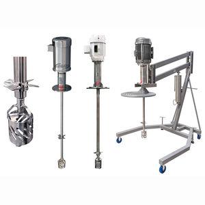 miscelatore dispersore / a rotore / discontinuo / per liquidi