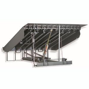 pedana di carico meccanica / con spondina di raccordo pieghevole / verticale