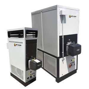 generatore di aria calda stazionario / gasolio / a gas / verticale