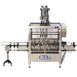 macchina di riempimento automatica / per l'industria agroalimentare / per l'industria chimica / per olio