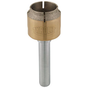 punta integrale / per vetro / in diamante / ad alte prestazioni