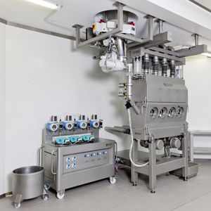 essiccatore a letto fluido / continuo / per l'industria farmaceutica / per l'industria dell'imballaggio