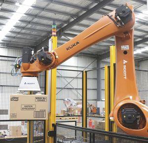 pallettizzatore robotizzato