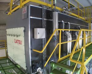caldaia ad acqua surriscaldata / a biomassa / a tubi di fumo / orizzontale