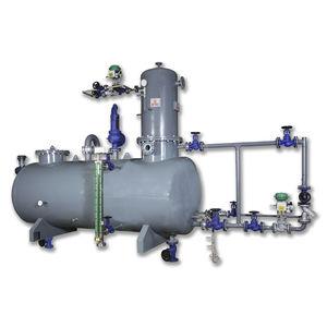 degasatore per acqua di alimentazione di caldaia