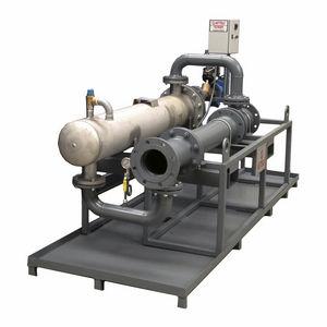 scambiatore di calore a fasci tubieri / liquido/gas / in acciaio inossidabile / in acciaio
