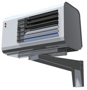 generatore di aria calda sospeso / a muro / a gas / industriale
