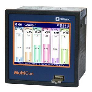 controllore di livello con display LCD