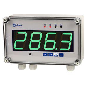 indicatore di umidità / di processo / di livello di segnale / di temperatura