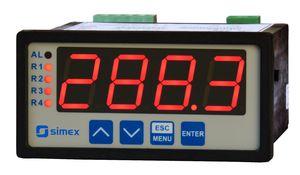 indicatore di portata / di processo / di temperatura / di stato