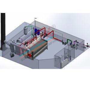 caldaia a vapore / a olio combustible / a gas naturale / a combustibile solido