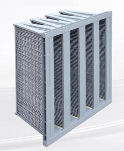 filtro ad aria / a gas / in pannelli / a V